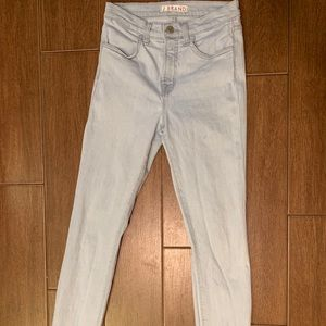 J brand Maria high rise light wash jeans 26